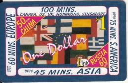 CANADA - Flags, Ilink Promotion Prepaid Card, Used - Canada