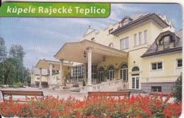 SLOVAKIA(chip)- Slovenske Kupele 2/4, Tirage 50000, Used - Slovaquie