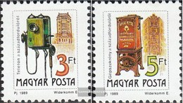 Hungary 4067I A-4068I A (complete Issue) Unmounted Mint / Never Hinged 1990 Postal Service - Hungary