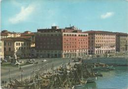 Z5308 Livorno - Piazza Micheli - Panorama / Viaggiata 1966 - Livorno