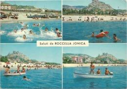 Z5310 Saluti Da Roccella Jonica (Reggio Calabria) - Panorama Vedute Multipla / Viaggiata 1975 - Italy