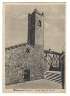 1297 - MONTEPESCALI GROSSETO ANTICA CHIESA S NICOLO' 1947 - Grosseto