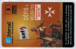 INTERCALL  - SAF Concvention Malte 1999 - Tirage : 550 Ex - Code Non Gratté - Voir Scans - France