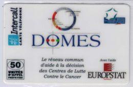 INTERCALL  - Domes EUROPSTAT - Tirage : 1.400 Ex - Code Gratté - Voir Scans - France