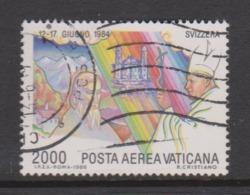 Vatican City AP 82 1986 Pope's Journeys,2000 Lire,used - Vatican