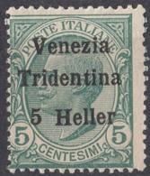TRENTINO, ITALIA - Yvert 28 Nuovo Senza Gomma. - Trentino
