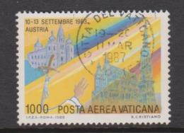 Vatican City AP 87 1988 Pope Travels During 1989  1000 Lire ,used - Vatikan