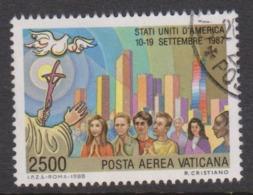 Vatican City AP 88 1988 Pope Travels During 1989  .2500 Lire ,used - Vaticano (Ciudad Del)