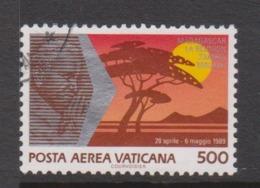 Vatican City AP 90 1990 Pope Travels During 1989  .500 Lire ,used - Vatikan