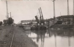 55 FAINS LES SOURCES  Le Pont Du Canal 1956 - France