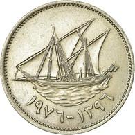 Monnaie, Kuwait, Jabir Ibn Ahmad, 50 Fils, 1976/AH1396, TTB, Copper-nickel - Koweït