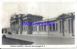 124464 ARGENTINA BUENOS AIRES SCHOOL ESCUELA MONUMENTAL Nº 2 SPOTTED POSTAL POSTCARD - Argentinien