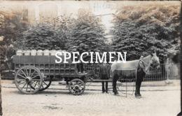 Fotokaart Paard Met Melk Span - Hille -  Zwevezele - Wingene