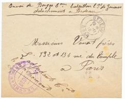ALGERIE ENV 1915 BEDEAU ORAN FM LE COMMANDANT D'ARMEES BEDEAU - 1877-1920: Periodo Semi Moderno