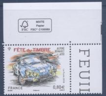 N° 5204 Fête Du Timbre, Voitures Anciennes Faciale 0,80 € - Nuevos
