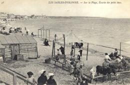 LES SABLES D' OLONNE (85) - Sur La Plage, Ecuries Des Petits Ânes - ANES - Sables D'Olonne