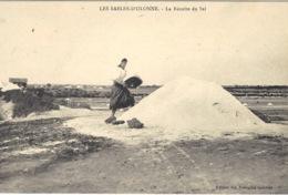 LES SABLES D' OLONNE (85) - La Récolte Du Sel - Ed. Des Nouvelles Galeries - Sables D'Olonne