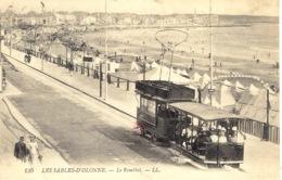 LES SABLES D' OLONNE (85) - Le Remblai - TRAMWAY - LL - 130 - Sables D'Olonne