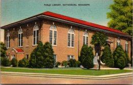 Mississippi Hattiesburg Public Library 1945 - Hattiesburg