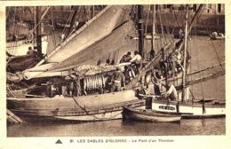 LES SABLES D' OLONNE (85) - Le Pont D'un Thonnier  - PÊCHE - FISHING - BOAT - BATEAU - Ed. CAP - Sables D'Olonne