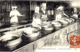 LES SABLES D' OLONNE (85) - Cuisson Des Sardines - MÉTIER - PÊCHE -  LL - 143 - Sables D'Olonne