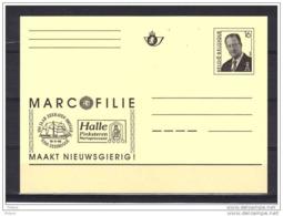 BELGIQUE ENTIER POSTAL MARCOPHILIE . (JE6) - Cartes Postales [1951-..]