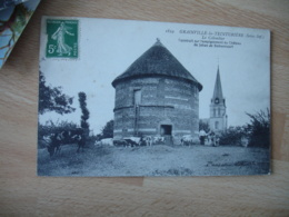 Grainville La Teinturiere Colombier Troupeau Vache - Francia