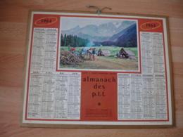 Scourt Eclaireur Scoutisme Camp Peisey Nancroix  Calendrier Almanach Ptt P T T 1969 Oller - Big : 1961-70