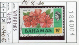 Bahamas - Michel 402z - Oo Oblit. Used Gebruikt - Blumen Flowers Fleurs Bloemen - Bahamas (1973-...)