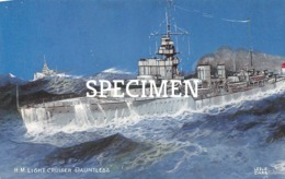 H.M. Light Cruiser Dauntless - Guerre
