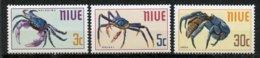 Niue, Yvert 118/120**, Scott 132/134**, SG 151/153**, MNH - Niue