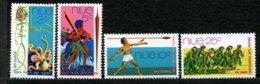 Niue, Yvert 133/136**, Scott 147/150**, SG 166/169**, MNH - Niue