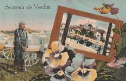 Rare Cpa Souvenir De Verdun - 1914-18