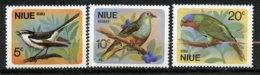 Niue, Yvert 125/127**, Scott 139/141**, SG 158/160**, MNH - Niue