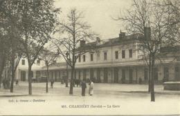 73  CHAMBERY - LA GARE (ref 6747) - Chambery