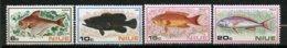 Niue, Yvert 142/145**, Scott 156/159**, SG 175/178**, MNH - Niue