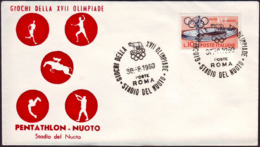 Italy - 1960 M - Olympic Games 1960 - Cover - Estate 1960: Roma