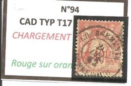 Y&T N°94   CLASSIQUE - 1876-1898 Sage (Type II)