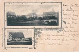 57 - Moselle - Gruss Aus KLOSTER HEILIGENBRONN ( Enchenberg ) 1898 - Altri Comuni