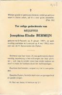 Sint-Pauwels, Lovenjoel, 1962, Josphina Bermijn, - Images Religieuses