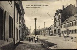 Cp Dillingen Saarland, Kaiser Friedrichstraße, Gasthaus - Allemagne