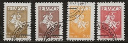 Biélorussie 1992 N°Y.T. : 19 à 22 Obl. - Bielorussia