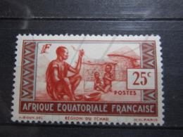 VEND BEAU TIMBRE D ' A.E.F. N° 40A , X !!! - Unused Stamps