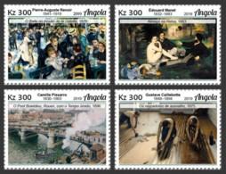 Angoala   2019 Famous Impressionist Paintings  S201905 - Angola
