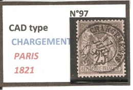 Y&T N°97   CLASSIQUE - 1876-1898 Sage (Type II)