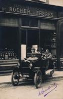 I178 - 38 - LA CÖTE-SAINT-ANDRE - Isère - Dépôt Des Liqueurs De Rocher Frères - Carte Photo - Automobile - La Côte-Saint-André