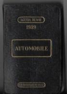 AUTOMOBILE ,agenda Dunod 1939 - Libri, Riviste, Fumetti