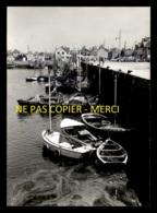 14 - GRANDCAMP-LES-BAINS - BATEAUX DE PECHE - TIRAGE PHOTO ORIGINAL, BON A TIRER DE LA CP SEMI-MODERNE FORMAT 10x15 - France