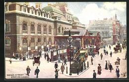 Artist's Pc London, Broad Street Station, Bahnhof - London