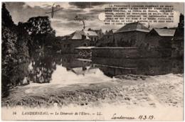 CPA 29 - LANDERNEAU (Finistère) - 14. Le Déversoir De L'Elorn - LL - Landerneau